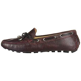 Driver Club USA Womens Natucket Leather Closed Toe