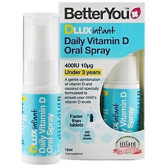 Betteryou lapset ' s päivittäin D-vitamiini dLux suun spray 15 ml