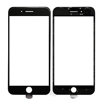 Black Top Glass & Frame For iPhone 8 Plus | iParts4u