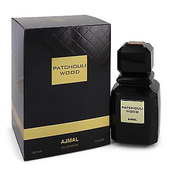 Ajmal Patchouli Wood av Ajmal Eau de Parfum spray (unisex) 3,4 oz/100 ml (menn)