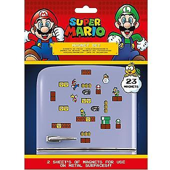 Super Mario Kühlschrank Magnete (Packung mit 23)