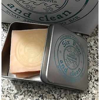 Six foot & clean travel tin