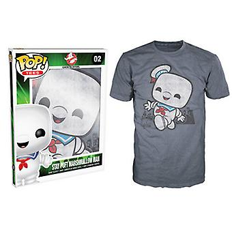 Ghostbusters Stay Puft Pop! T-Shirt Male Indigo