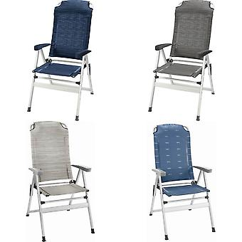 布伦纳克里苗条铝折叠露营椅