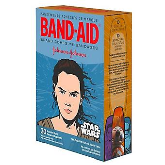 Band-aid children's adhesive bandages, star wars, assorted sizes, 20 ea