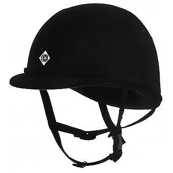Charles Owen Yr8 Riding Hat - Black