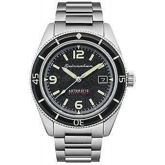 Spinnaker SP-5055-44 Gent's Fleuss Black Dial Wristwatch