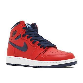 Air Jordan 1 retrô Og alto Bg (Gs) 'David Letterman' - 575441 - 606 - sapatos