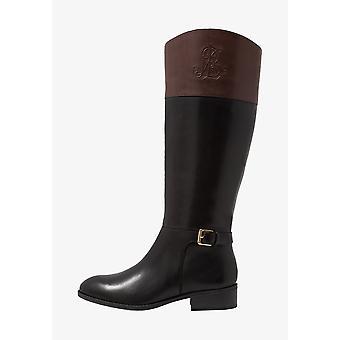 Lauren by Ralph Lauren Womens madisen Leather Closed Toe Knee High Fashion Bo...
