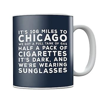 Blues Brothers Sunglasses Quote Mug