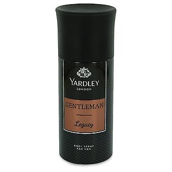 Yardley Gentleman Legacy Deodorant Body Spray By Yardley London   543542 150 ml