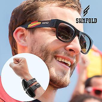Black Sunfold Espanha Roll-Up Óculos de sol