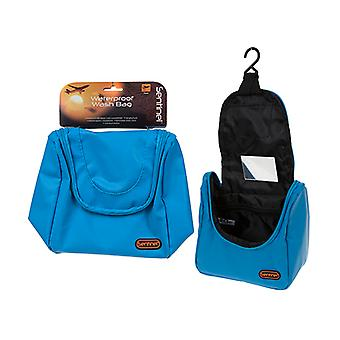 Summit Sentinel Waterproof Travel Wash Bag - Blue