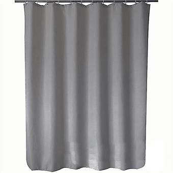 Waffle jacquard shower curtain