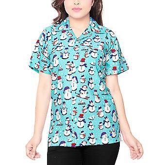 Club cubana women's regular fit classic short sleeve casual blouse shirt ccwx17