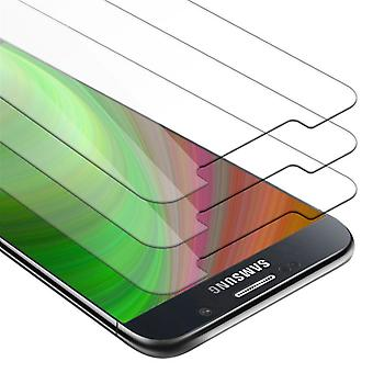 Cadorabo 3x Tank Foil for Samsung Galaxy NOTE 5 - Protective Film in KRISTALL KLAR - 3 Pack Tempered Display Protective Glass in 9H Hardness with 3D Touch Compatibility