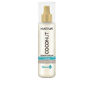 Kativa Coconut Rekonstruktion Serum Cream 200 Ml för kvinnor