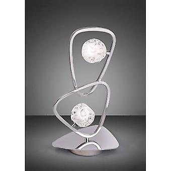 Lux Table Lamp 2 Light G9, Polished Chrome