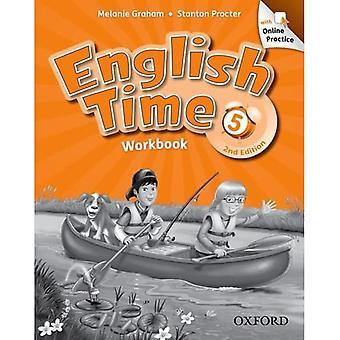 Engelska tid: 5: arbetsbok med onlineövning