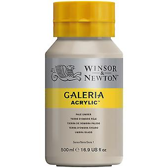 Winsor & Newton Galeria Acrylic Paint 500ml - Pale Umber