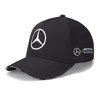 Mercedes AMG Petronas Team Baseball Cap   Black   Adult   2020