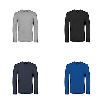 B&C Mens #E190 Long Sleeve T-Shirt