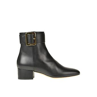 Bally Ezgl012008 Women's Black Leather Ankle Boots