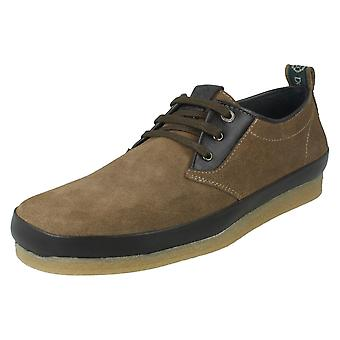 Mens Nicholas Deakins Casual Shoes Accona Mudguard