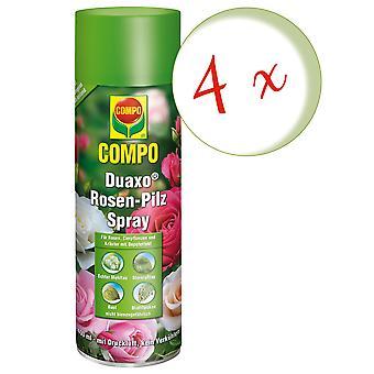 Sparset: 4 x COMPO Duaxo® Roses Mushroom-Free Spray, 400 ml