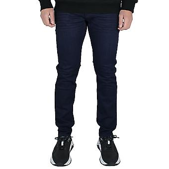 Emporio armani mens j06 dark blue jeans