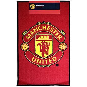 Manchester United Printed Crest Rug