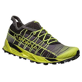 La Sportiva Mutant Mens Cushioned Off-road/mountain Running Shoes Apple Green/carbon
