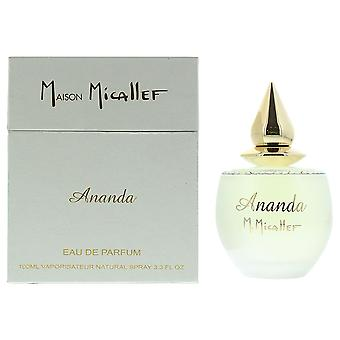MMicallef Ananda Eau de Parfum 100ml Spray For Her