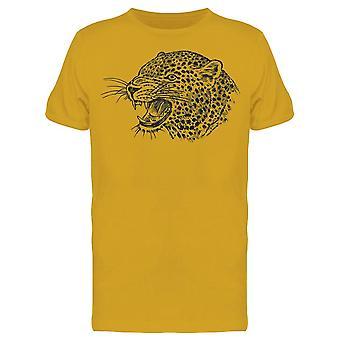 Japonais Leopard Tee Men-apos;s -Image par Shutterstock