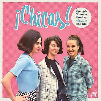 Various Artist - Chicas 2: Spanish Female Singers 1963-1978 [CD] USA import