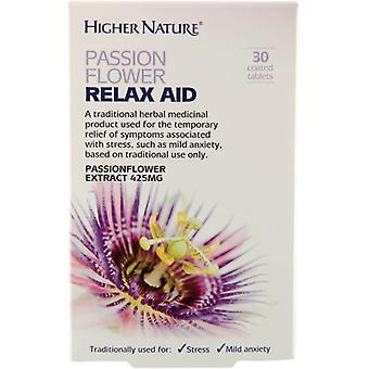 Higher Nature Passion Flower Relax Aid Tablets 30 (HEPR030T)