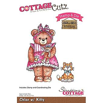 Scrapping Cottage CottageCutz Chloe with Kitty