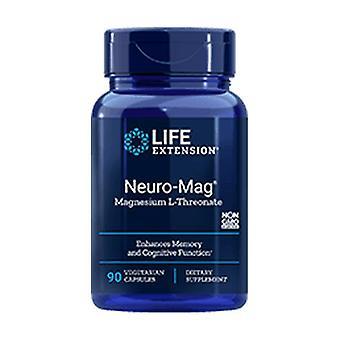Neuro-Mag Magnesium L-Threonate 90 vegetable capsules