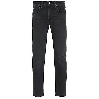 Edwin ED-80 Slim Tapered CS Ayano Black Denim Jeans