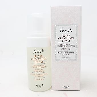 Fresh Rose Cleansing Foam  4oz/120ml New With Box