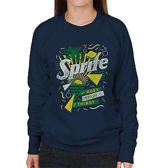 Sprite Retro 90s Sunset Women's Sweatshirt
