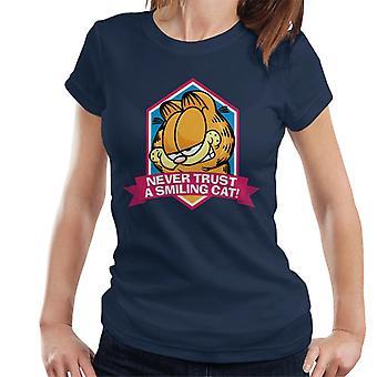 Garfield en smilende kat du kan aldrig stole kvinder ' s T-shirt