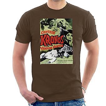 Hammer skräck Films kapten Kronos klassiska affisch män ' s T-shirt