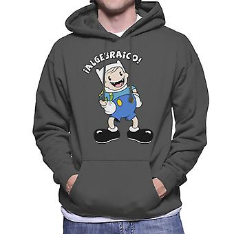 Finn The Human Men-apos;s Sweatshirt à capuchon