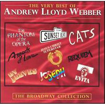 Andrew Lloyd Webber - Very Best of-Broadway Collecti [CD] USA import
