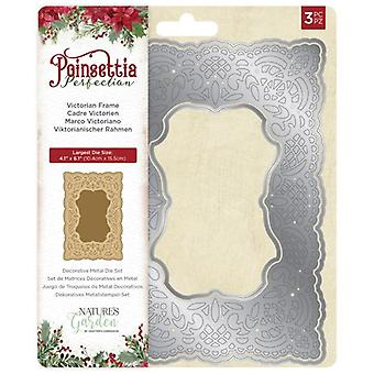 Crafter's Companion Poinsettia Perfection Victorian Frame Die