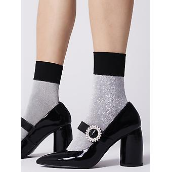 Fiore Pincio Sparkle Ankle Highs