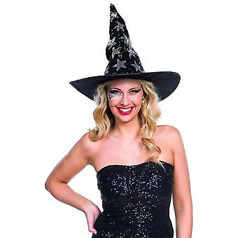 Sorcellerie étoiles pailles de pivots Halloween sorcières paillettes