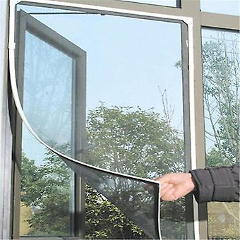Anti Insect Window Net Mesh Screen - Cortina Protector Pantalla de ventana negra