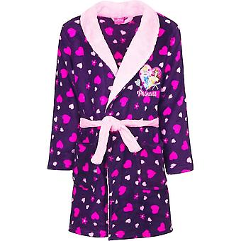 Disney princess girls dressing gown bathrobe